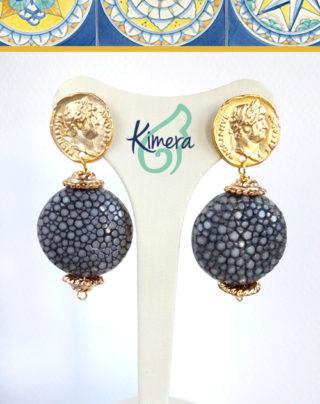 Orecchini in Pelle di Razza – Luxury Collection