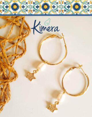 Orecchini Stelle color Oro e Zirconi – Luxury Collection