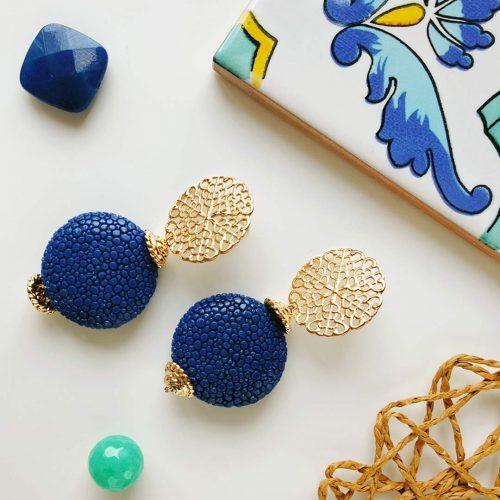 Orecchini Blu Mare d'Amalfi – Luxury Collection